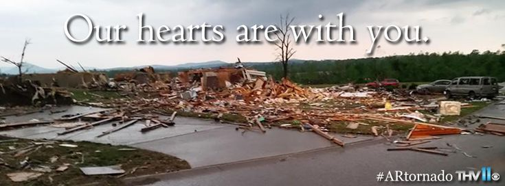 Please join me in praying for and supporting the Mayflower, Arkansas, tornado victims!a