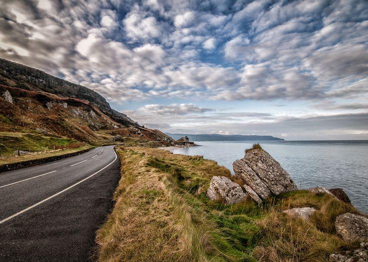The Road to Glenarm, North Antrim Coast