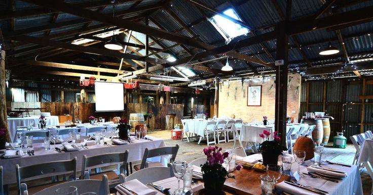 Brave Goose Vineyard and Shearing Shed // Central Victoria, VIC // via WedShed