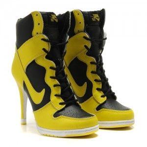 Кроссовки женские на каблуках Нaйк Данк №38024