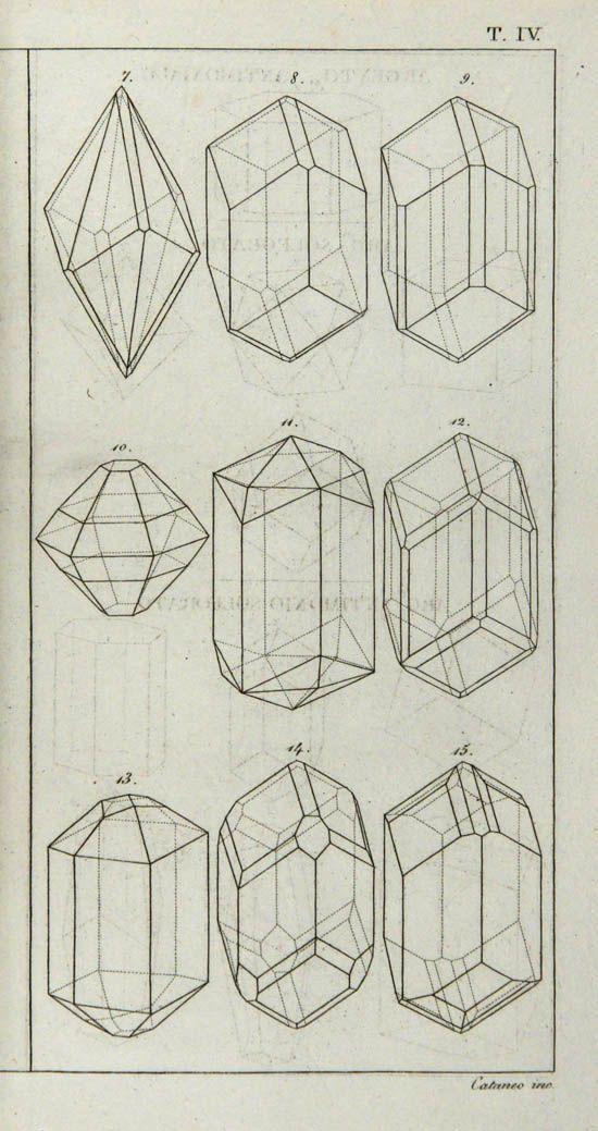 Good Examples for Construction Drawing Students Matteo Tondi, Elementi di Orittognosia, 1817