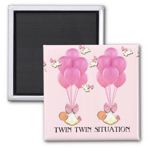 Baby Shower Favors For Twins ~ Best images about twins baby shower magnets on