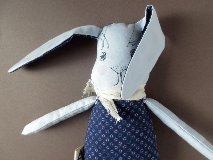 Abracadabra and stuff - Whimsical plushies and rag dolls.  Toy bunny Easter bunny gift Stuffed bunny Handmade doll Soft bunny For newborn For babies For toddler Boy gift under 50 Nursery decor kids