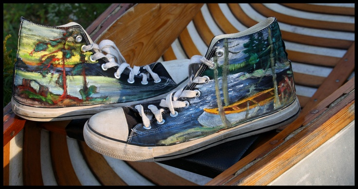 Tom Thomson - Converse Shoes