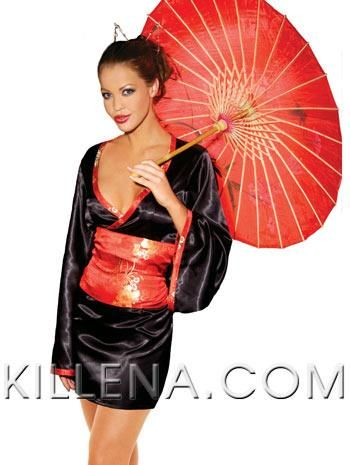 Бант для костюма гейши