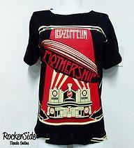 Camiseta Led Zeppelin reformada en la espalda. $40.000 Adquierela en www.rockerside.com Envíos a todo Colombia, aceptamos todos los medios de pago