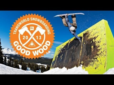 Good Wood Board Test 2013 - TransWorld SNOWboarding - La mejor tabla de snow lib-tech Banana