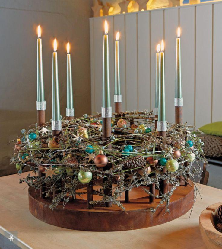 447 best images about adventskranz on pinterest. Black Bedroom Furniture Sets. Home Design Ideas
