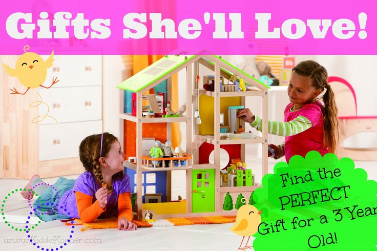 Educational Gifts For 6 Year Olds: Click Here To Find The PERFECT Gift For A 3 Year Old Girl