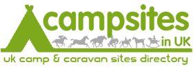 Campsites In UK Logo