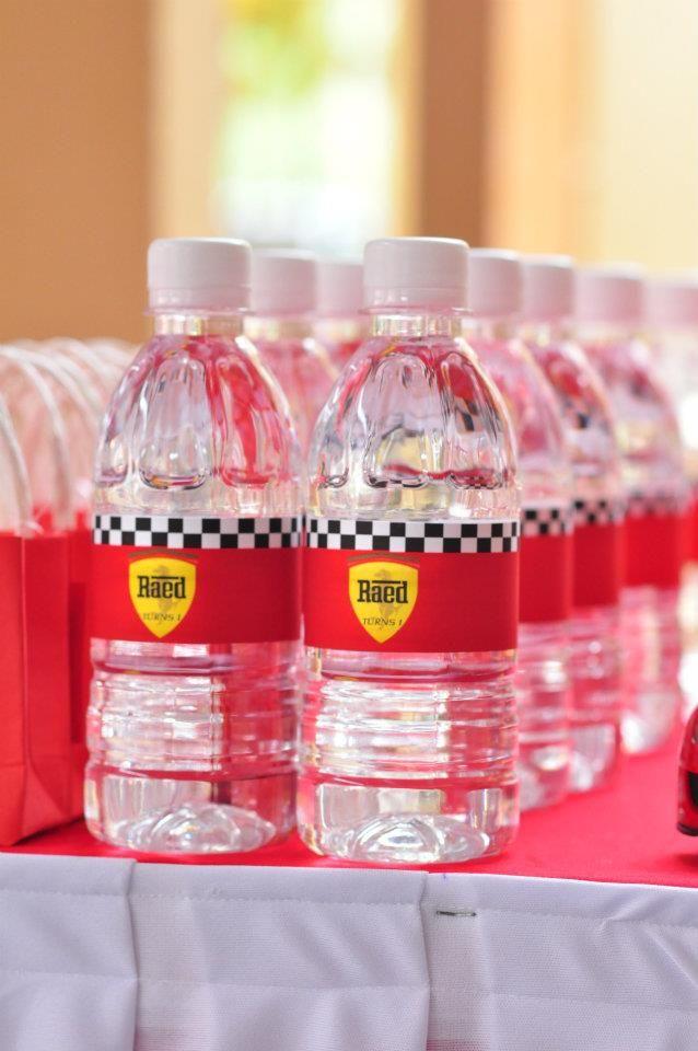 Oh Pretty Please: Ferrari Theme Birthday Party