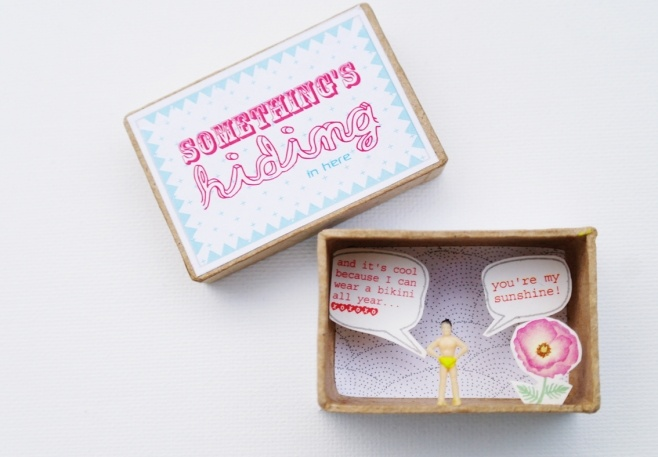 You are my sunshine Little message box $9,20 by Pamela Loops
