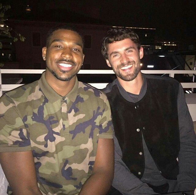 Kevin Love With Tristan Thompson