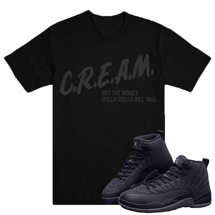 CREAM Tee- Jordan WOOL 12's
