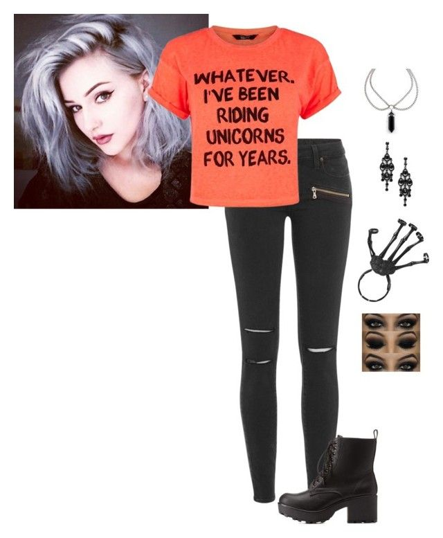 """The Halloween Halloween Costume 2015"" by hanakdudley ❤ liked on Polyvore featuring Paige Denim and Charlotte Russe"