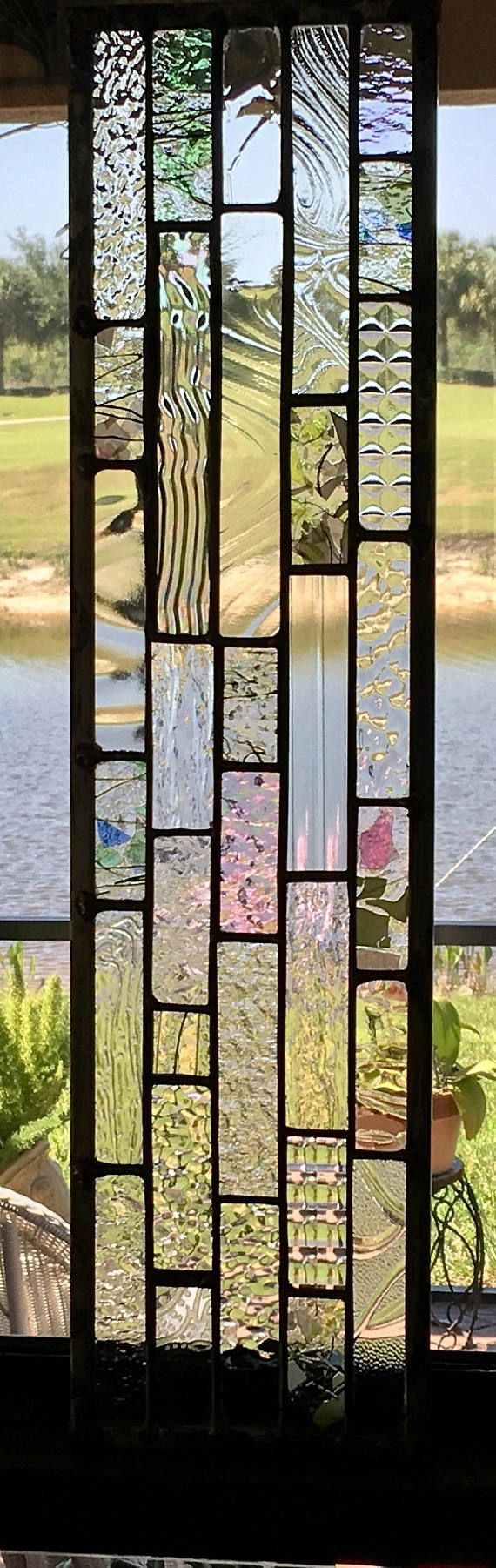 Beautiful Suncatcher can be hung vertically or horizontally. The various textures add an element of interest. When hanging in the sunlight this piece glitters. I also recommend using these as a table décor. Less than $100 these make fabulous gifts. Think birthday, anniversary,