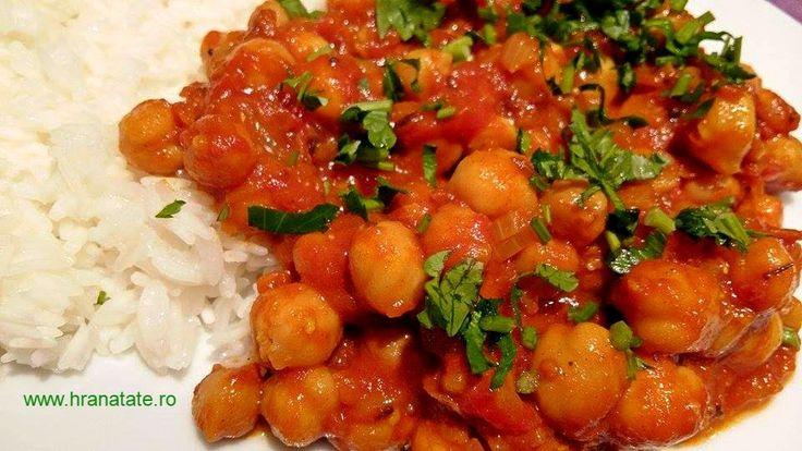 Chana Masala – mancare indiana de naut