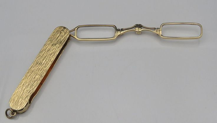 14k Solid Gold Eyeglass Frames : 182 Best images about Lorgnettes on Pinterest Auction ...