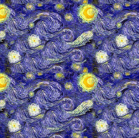 Colorful Fabrics Digitally Printed By Spoonflower Van