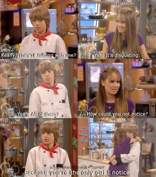 Suite Life on Deck - tell me again why this show was cut short. THIS SHOULD BE ALL THAT DISNEY PLAYS 24/7