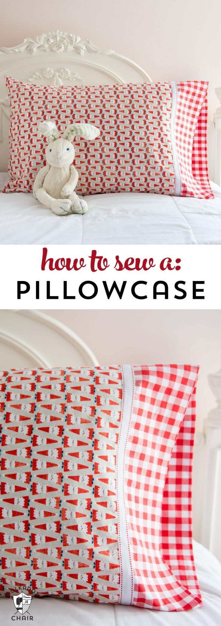 Learn to sew a pillowcase quickly and easily. # sew # start sewing #cushion …   – Yes I can
