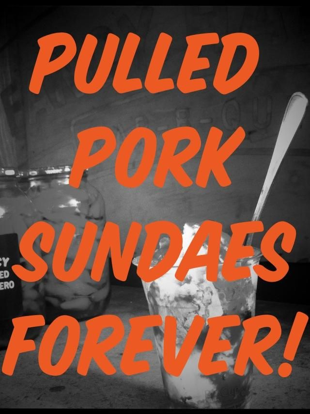 Have you tasted the amazing Pulled Pork Sundaes from Fancy Hank's BBQ? Every weekend this July at Village Melbourne.