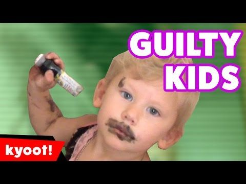 The Funniest Cute Guilty Kids 2016 Weekly Compilation | Kyoot Kids - YouTube