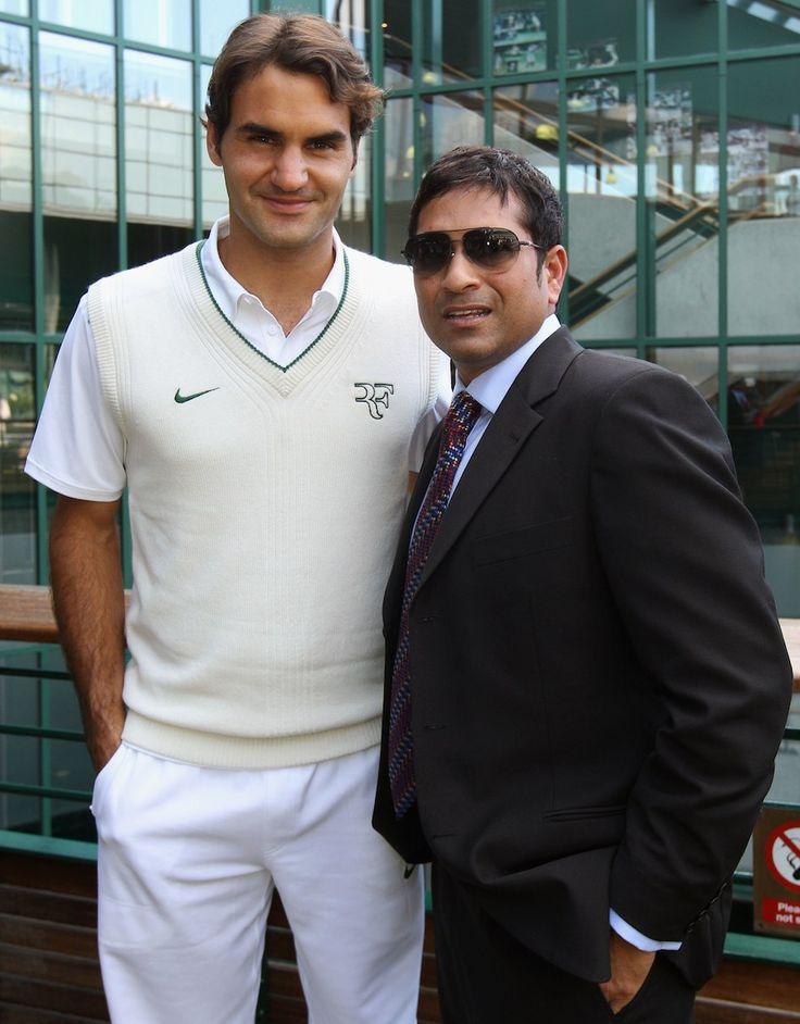 #Tendulkar & #Federer