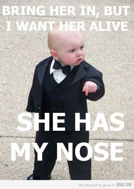 B*tch got my nose