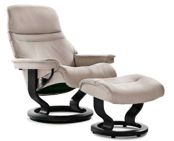 1000 id es sur le th me leather recliner chair sur - Fauteuil bureau stressless ...