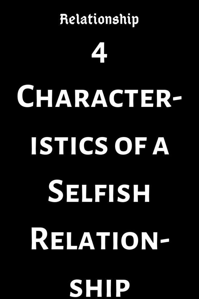 Single men are selfish