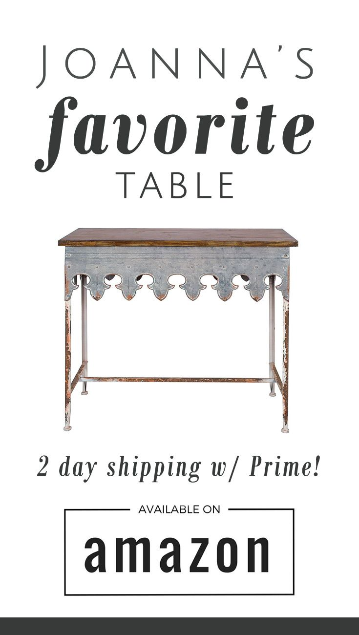 I've been looking for this table everywhere! I didn't want to wait 3 weeks, but…