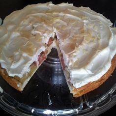 Rhabarberkuchen mit Baiser Super gut und einfach!