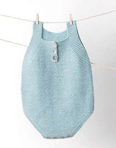 Book Baby 80 Spring / Summer | 2: Baby Rompers | Light sky blue