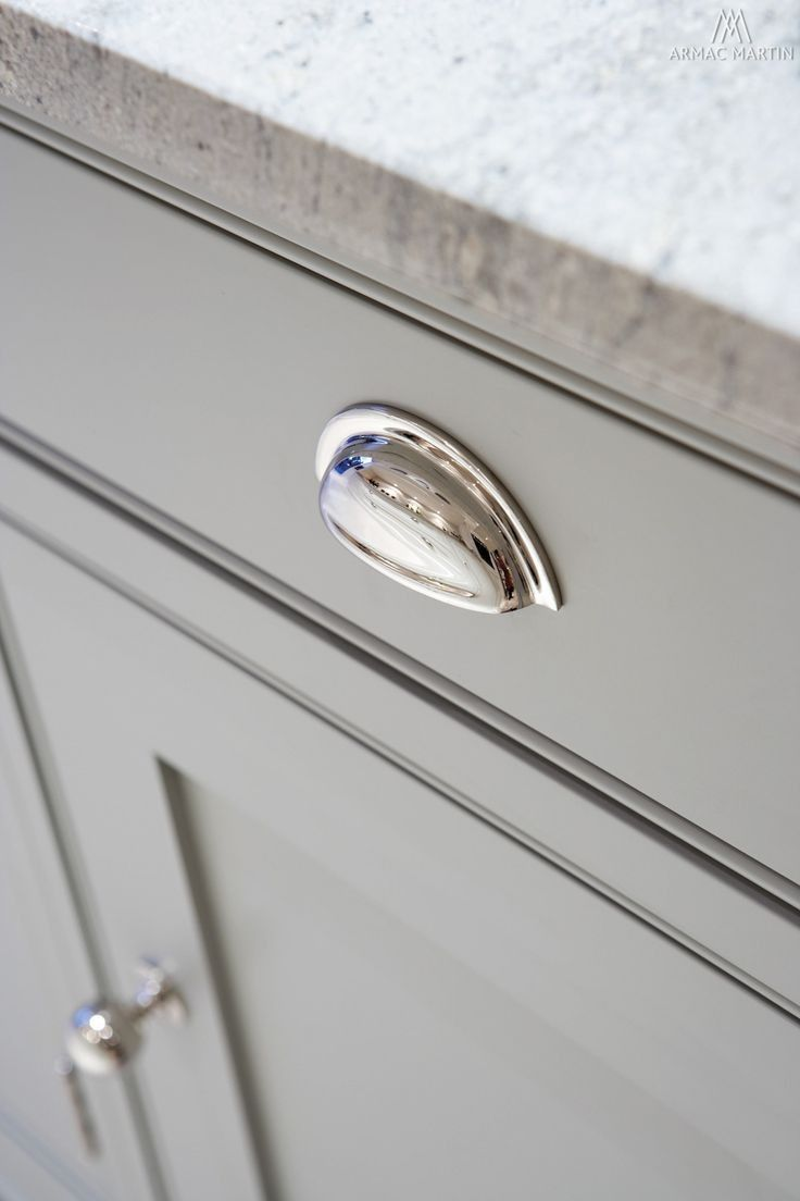 Shaker Cabinet Hardware Brushed Nickel