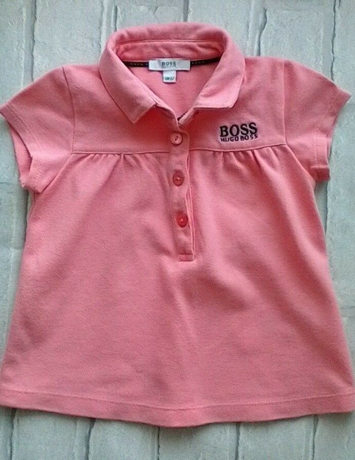 6ace6e2b65db Hugo Boss Baby Girls Top Short Sleeve 6 months  HUGOBOSS