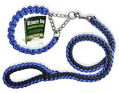 26 best dog collars images on pinterest riveting spikes and doggies olivery heavy duty dog martingale braided collar with solid hand crafted leash for smallmediumlarge dogs agility obedience behavior training and everyday fandeluxe Image collections