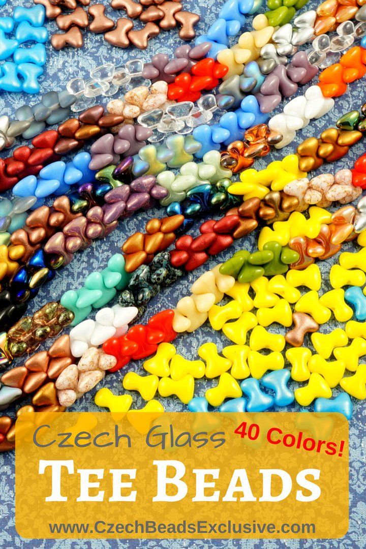 ? Czech Glass Tee Beads Preciosa  40 Different Colors! - Buy now with discount!  Hurry up - sold out very fast! www.CzechBeadsExclusive.com/+tee SAVE them! ??Lowest price from manufacturer! Get free gift! 1 shipping costs - unlimited order quantity!  Worldwide super fast ?? shipping with tracking number! Get high wholesale discounts! Sold with  at http://www.CzechBeadsExclusive.com + free Tee Bead Patterns #CzechBeadsExclusive #czechbeads #bead #beaded #beading #beadedjewelry #handmade #etsy…