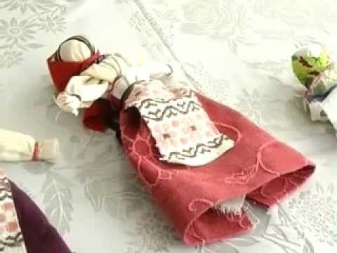▶ Кукла-мотанка. Мастер-класс - YouTube