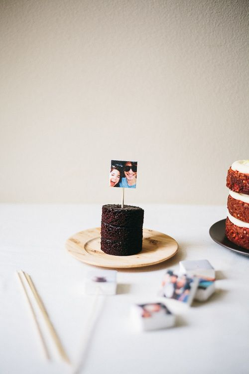 marshmallow instagram cake toppers | my name is yeh