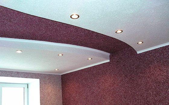 Современные жидкие обои на потолок: фото и отзывы