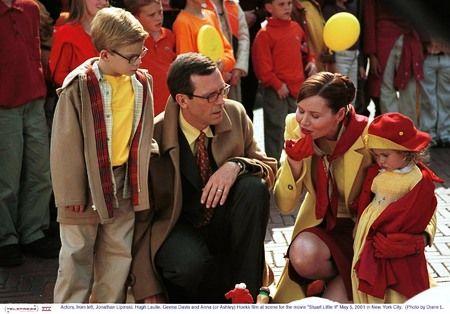 Geena Davis, Jonathan Lipnicki, Hugh Laurie