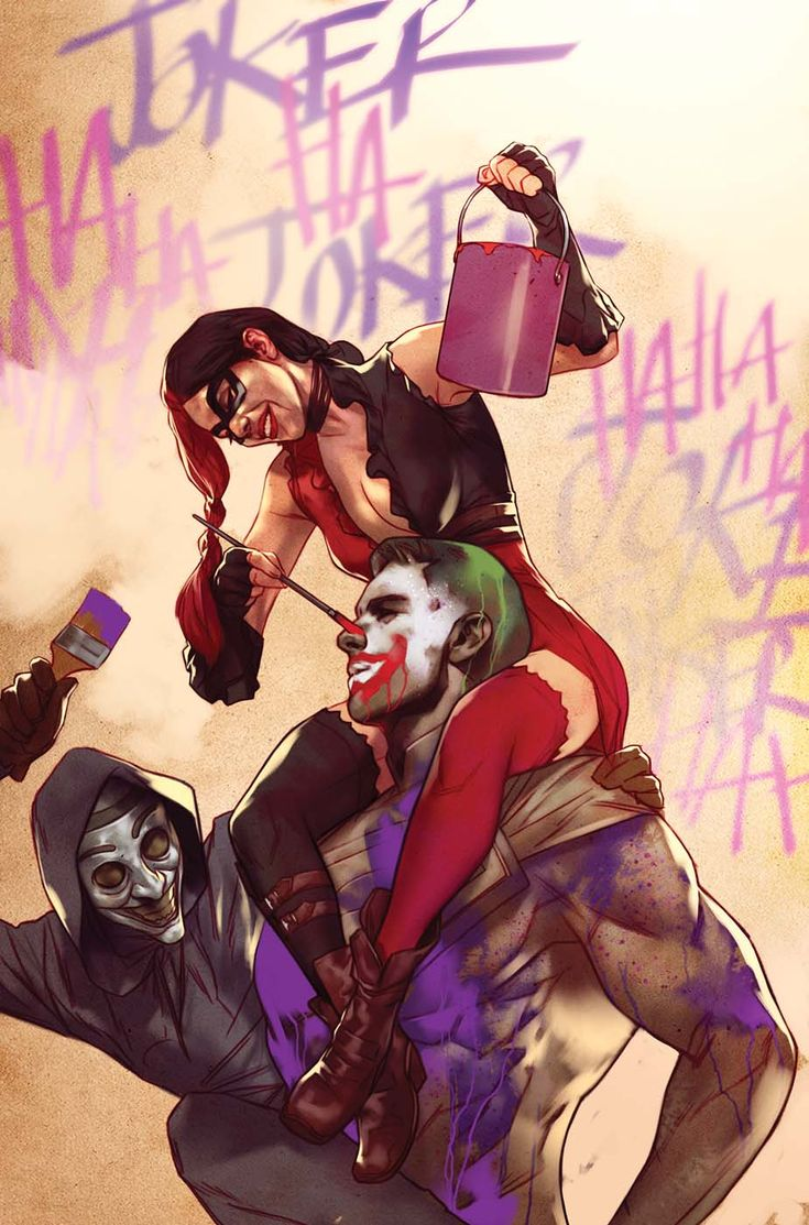 Injustice Gods Among Us: Ground Zero #1. Harley Quinn and Joker