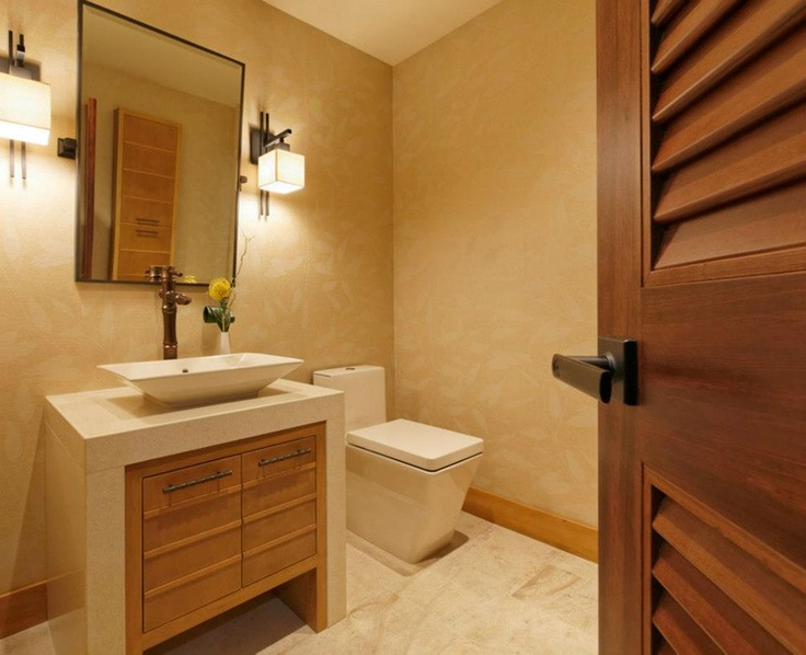 Asian Bath Design Ideas, Pictures, Remodel And Decor. Like This Style Door