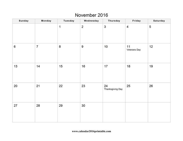 Free November 2016 Calendar with Holidays that you can download, customize, and print. Calendars are available in PDF, Images and Microsoft Word formats. This calendar belongs to these categories: November 2016 Calendar November 2016 Calendar with Holidays Veterans Day 2016: Friday, November 11, 2016 Thanksgiving Day 2016: Thursday, November 24, 2016 Download PDF version Download Microsoft Word version… Read More »