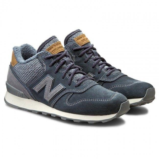 Sneakersy New Balance Wh996lca Granatowy New Balance Sneaker New Balance Sneakers