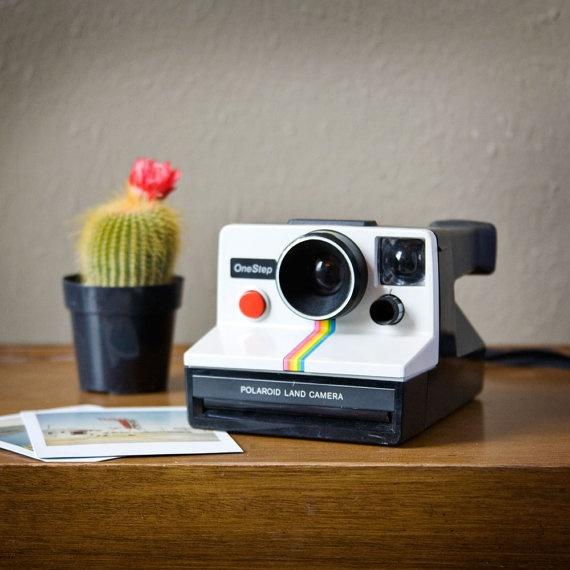 1970s Vintage Original Polaroid One Step Land Camera