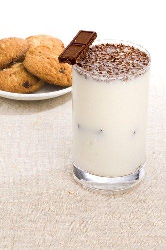 Ванильный милкшейк с шоколадным печеньем