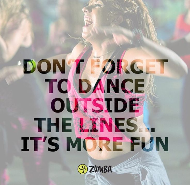 Everything you need to know about zumba The only thing I love to do as a form of exercise is dance and i dance like no one is watching in the comfort of my own home.
