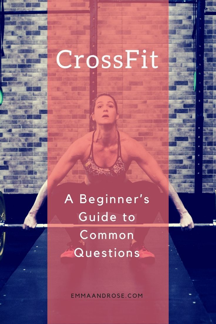 CrossFit A Beginner's Guide to Common Questions